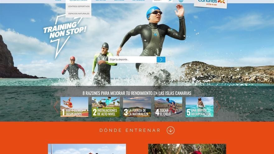 Imagen de la nueva plataforma de comunicación 'Training Non Stop'.