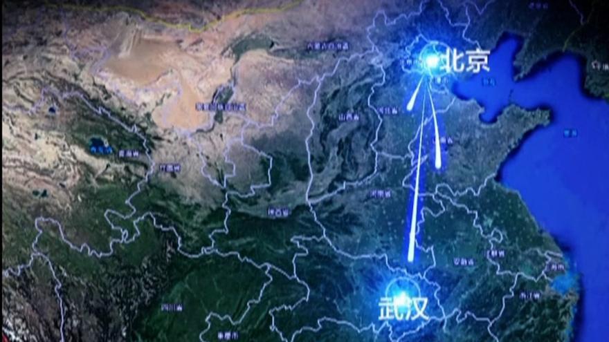Una de las fases de T-Flight que prevé el Gobierno chino