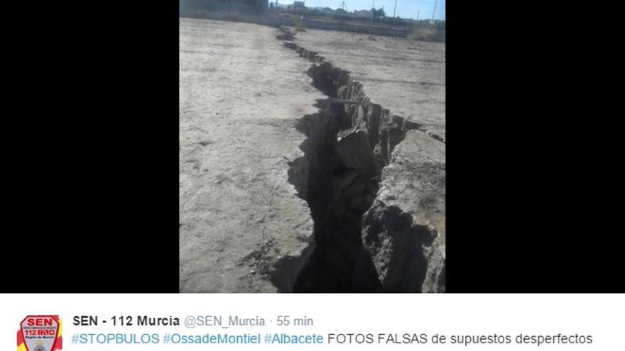 Twitter Servicios de Emergencia de Murcia
