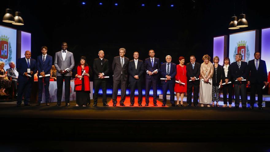 Galardonados en el Acto de Honores y Distinciones del Ayuntamiento de Las Palmas de Gran Canaria