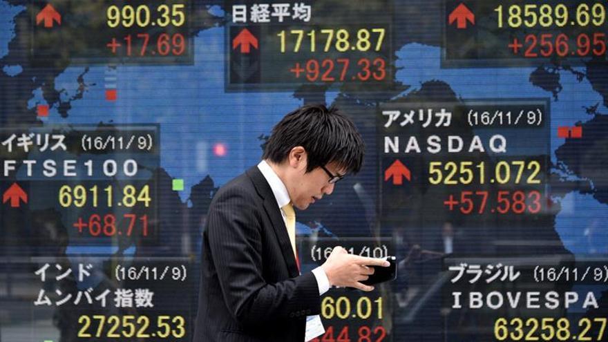 La Bolsa de Tokio cae un 0,25 por ciento en la apertura