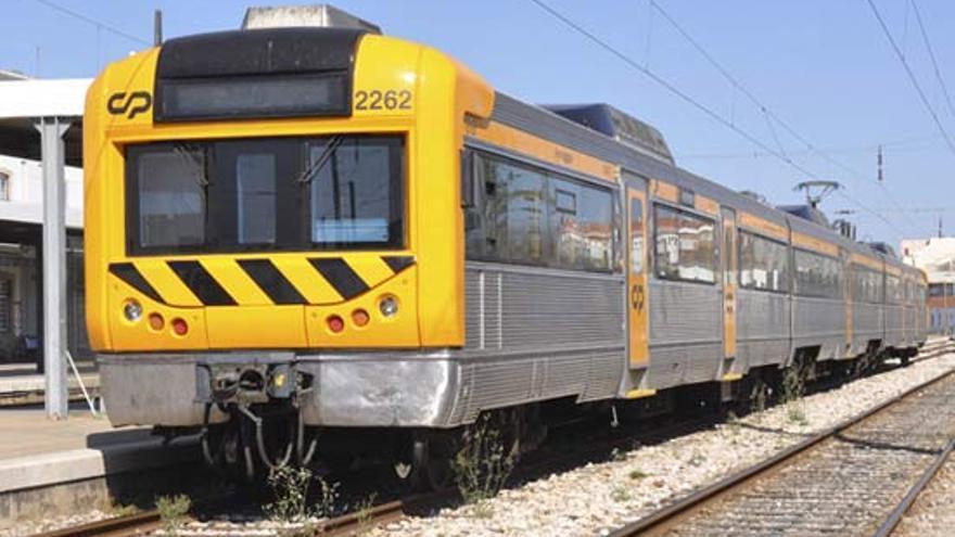 Tren regional CP Portugal