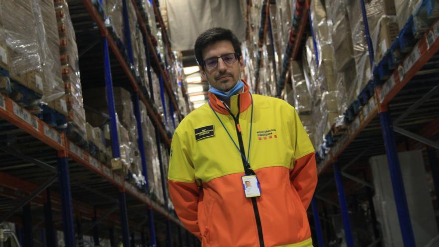 Joaquim Algarte, jefe de logística del SEM