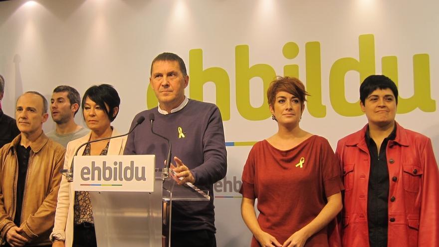 """EH Bildu dice que """"no se pueden mantener políticas alianzas"""" con partidos que apoyan la aplicación del 155"""