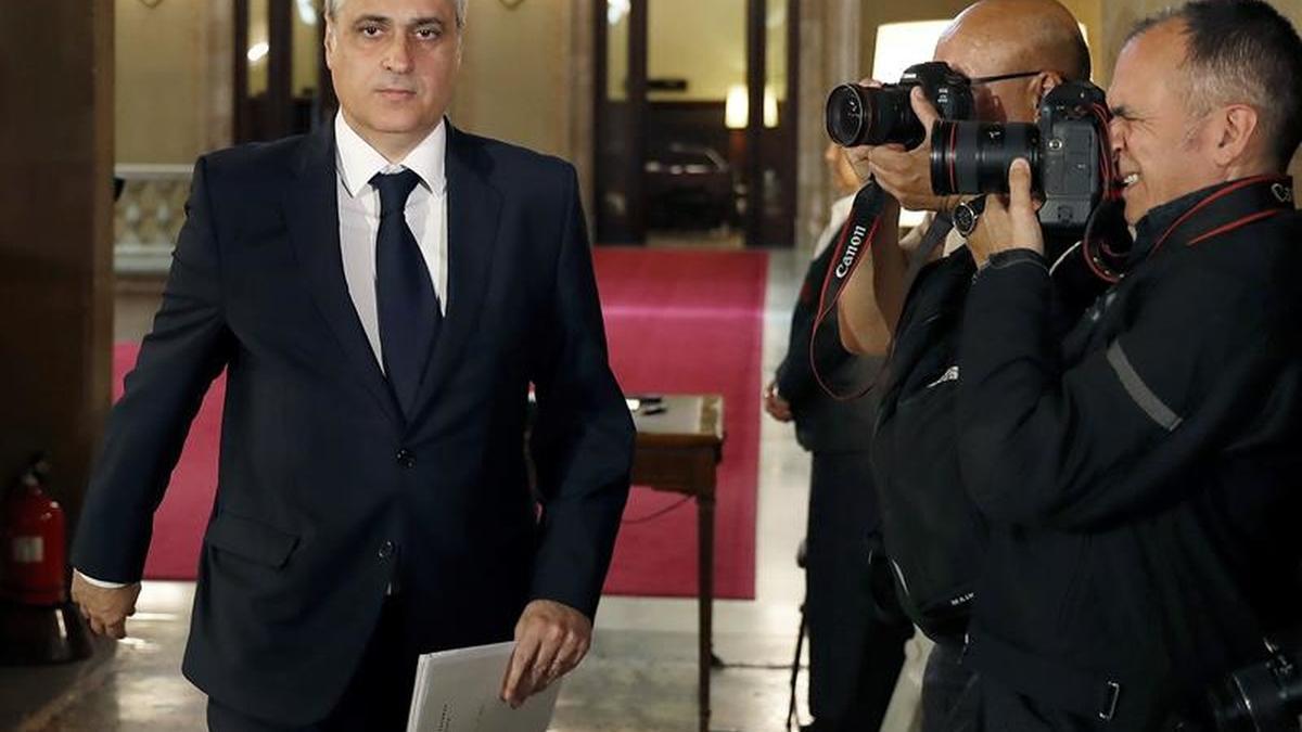 El exconseller Germà Gordó suma una nueva imputación por el caso del 3%