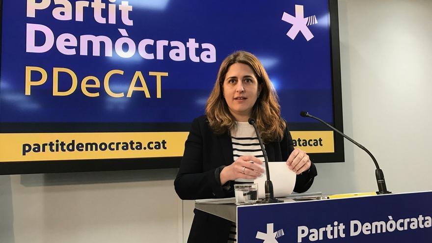 Marta Pascal (PDeCAT) critica en Londres que el Gobierno no deja al Parlament abordar el independentismo