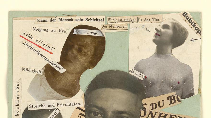Fotomontaje de Marianne Brandt. Bauhaus-Archiv Berlin, Foto: Markus Hawlik © VG Bild-Kunst Bonn 2019