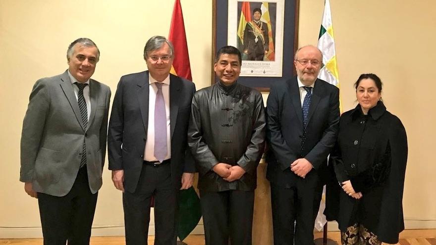 """García Casas se reúne con el ministro de Exteriores de Bolivia para planificar """"futuras acciones"""""""
