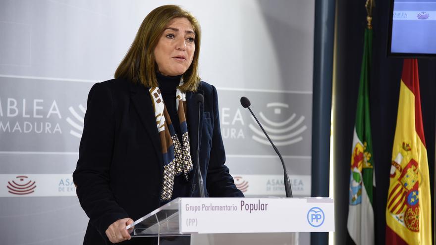 Pilar Pérez, diputada autonómica del PP Extremadura
