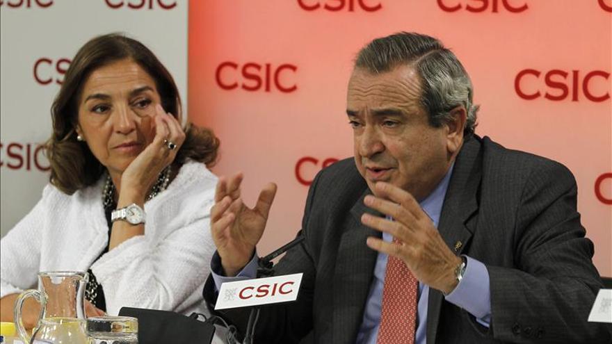 El presidente del CSIC, Enrique Lora-Tamayo. EFE