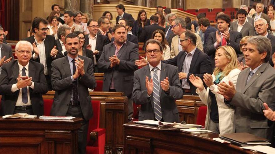 El Parlament aprueba una resolución de apoyo a la consulta del 9N