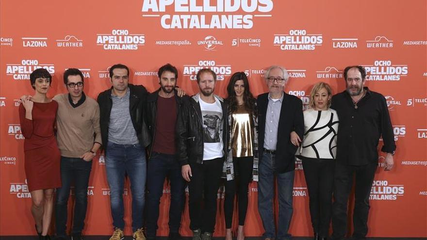 """""""Ocho apellidos catalanes"""", una comedia """"blanca"""" sin más ánimo que hacer reír"""