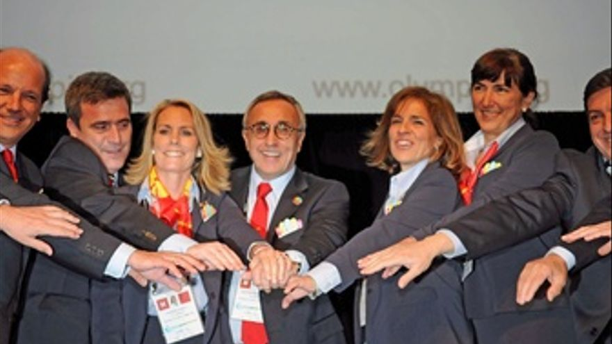 El Presidente Del Comité Olímpico Español Y De Madrid 2020, Alejandro Blanco