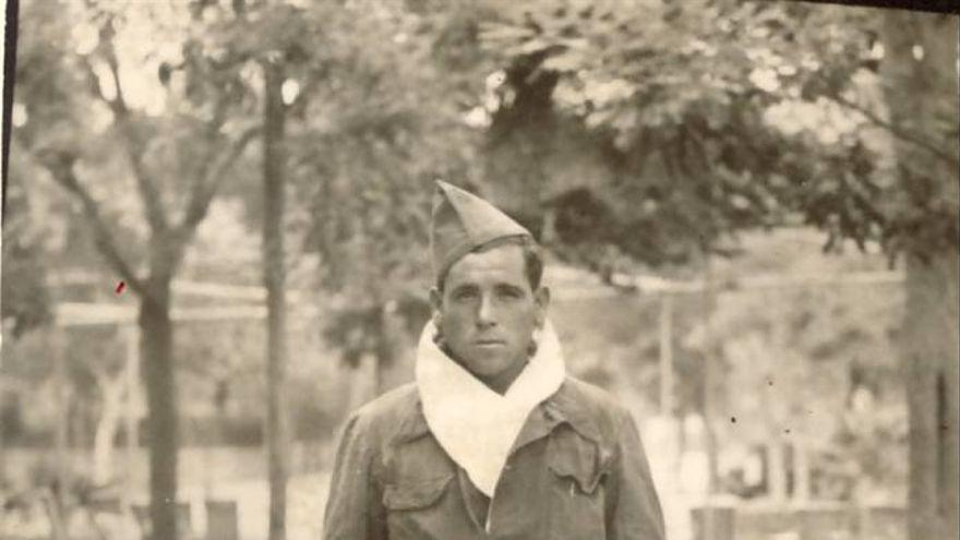 Fotografía de Martín del Amor Hurtado, asesinado en Mauthausen en 1941. Fecha y lugar sin determinar