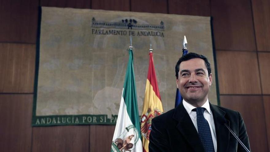 Moreno afronta su investidura pendiente de cerrar su Gobierno con Ciudadanos