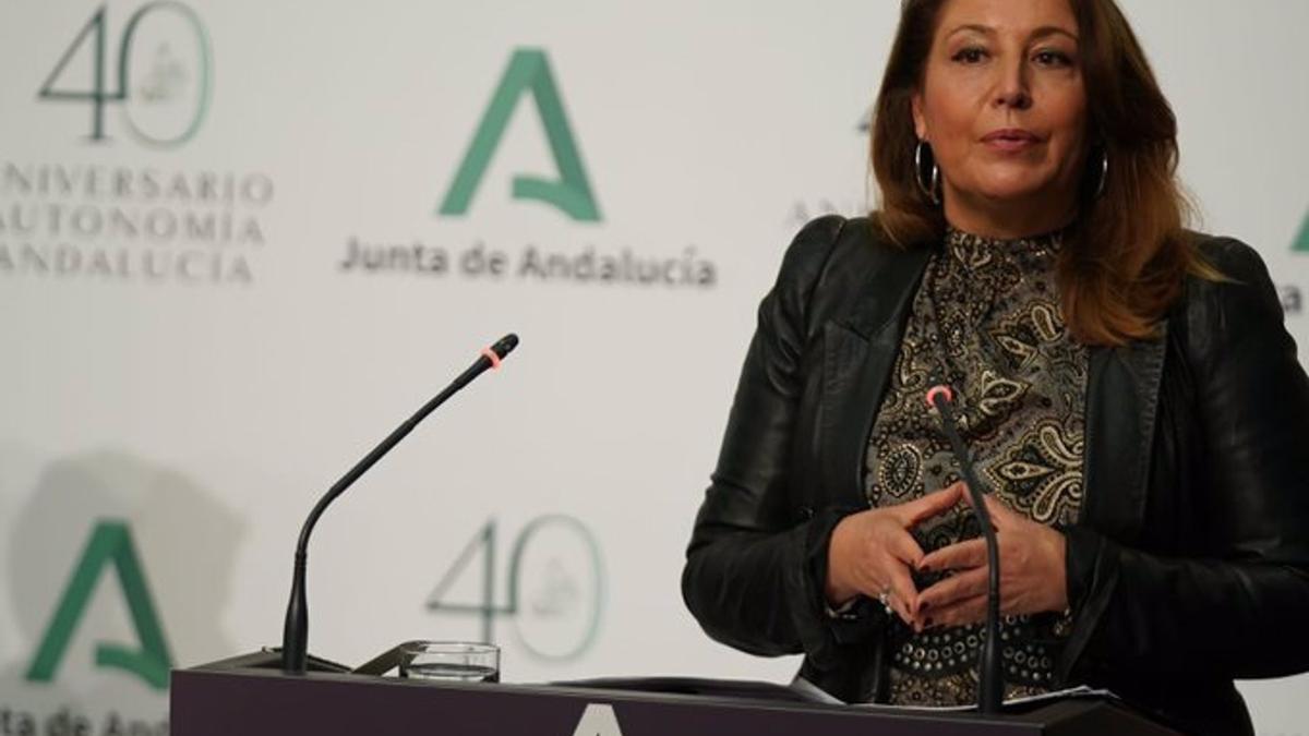 La consejera de Agricultura Carmen Crespo