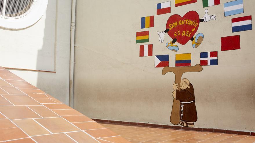 Instalaciones del colegio San Antonio. FOTO: PATRICIA GARCINUÑO