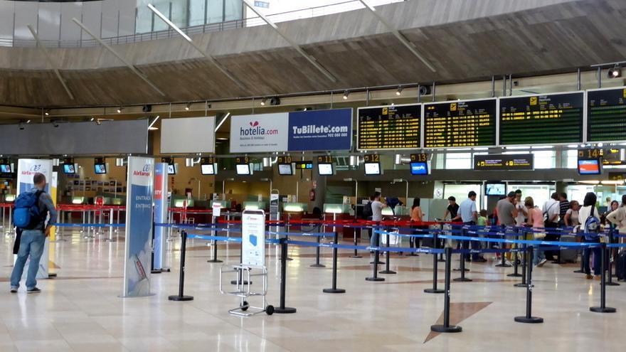 Aeropuerto Tenerife Norte en imagen de archivo