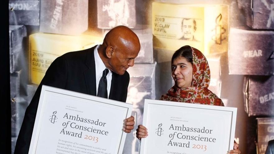 Cerermonia de entrega del premio Embajador de Conciencia 2013. © Amnistía Internacional