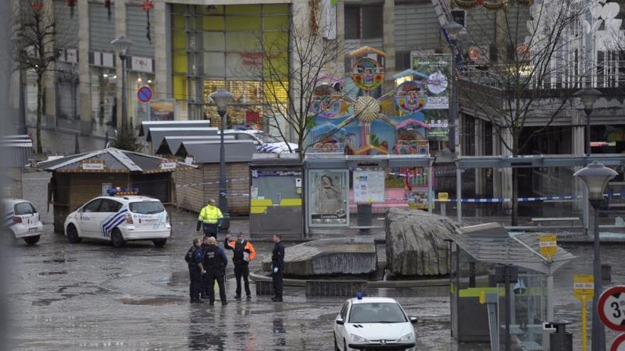 """Fiscalía belga confirma como """"delito terrorista"""" el tiroteo con tres muertos en Lieja"""