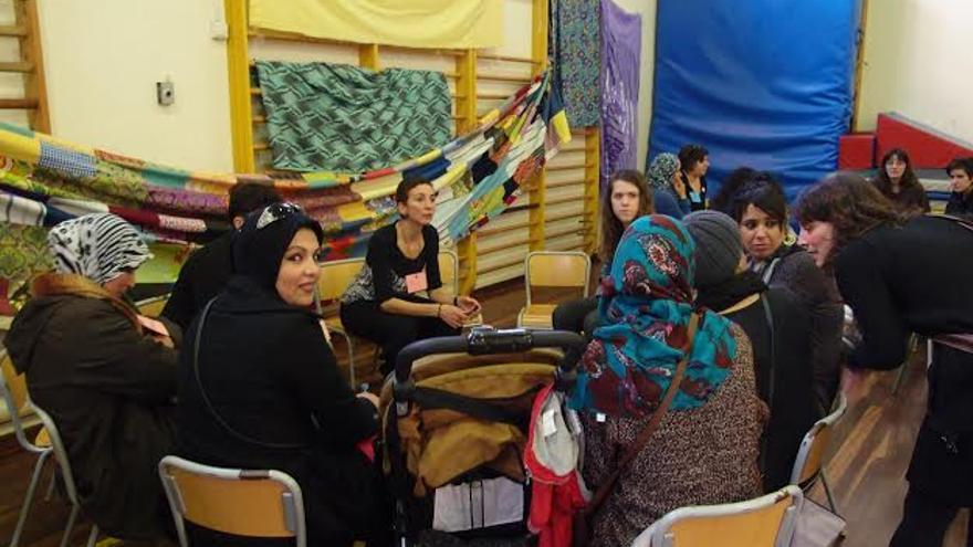 Un encuentro de mujeres inmigrantes propiciado por la Plataforma Gora Gasteiz.