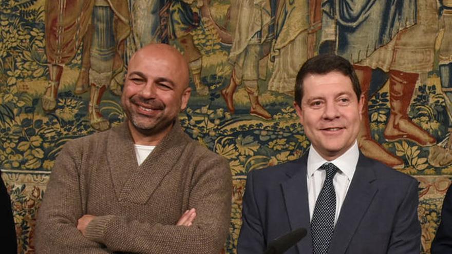 José García Molina y Emiliano García-Page, en el acuerdo de Presupuestos