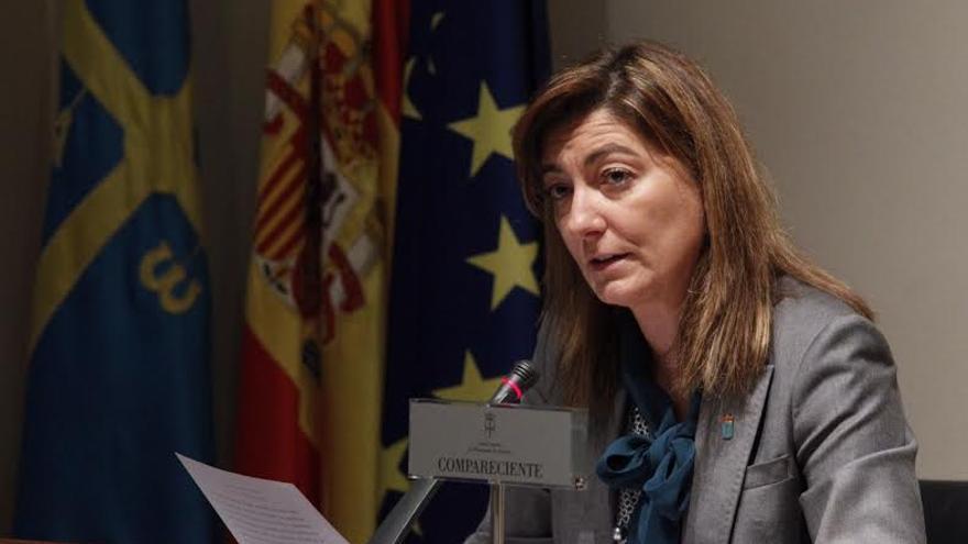 La consejera de Bienestar Social, Esther Díaz, deja su cargo para no perjudicar al Gobierno de Asturias