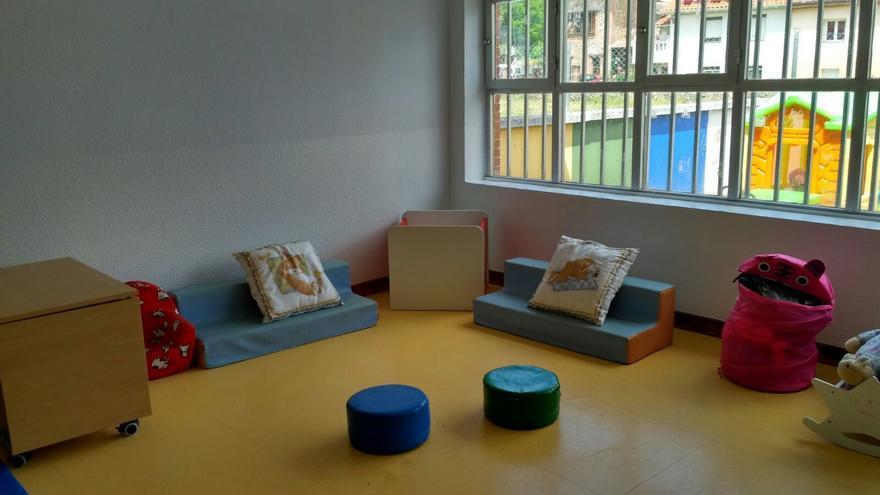Aula de dos años de un colegio público de Cantabria. / C. P