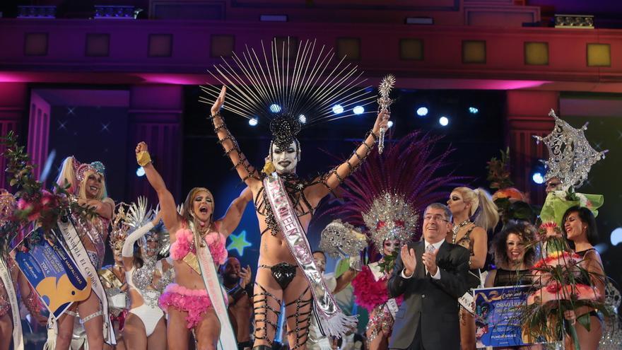 Drag Gio, ganador en el Carnval Internacional de Maspalomas