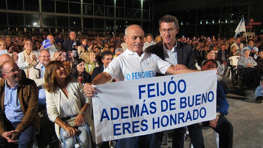 """Feijóo se erige en garantía de que """"ningún voto quede fuera"""" de O Hórreo y se reivindica: """"No soy una sorpresa"""""""
