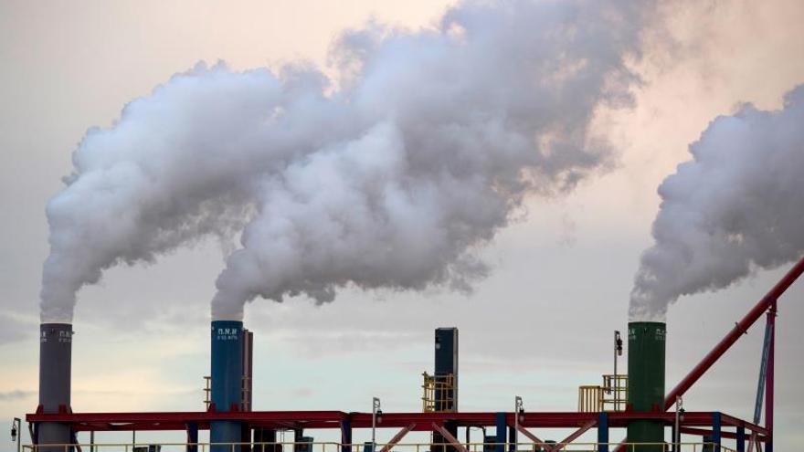 Un 70 % de las emisiones de CO2 no están sometidas a ningún impuesto