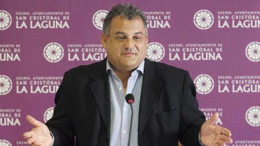 José Alberto Díaz, alcalde de La Laguna. / Cristóbal García (Efe)