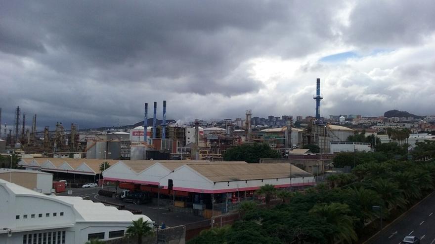 Instalaciones de la Refinería de Santa Cruz de Tenerife