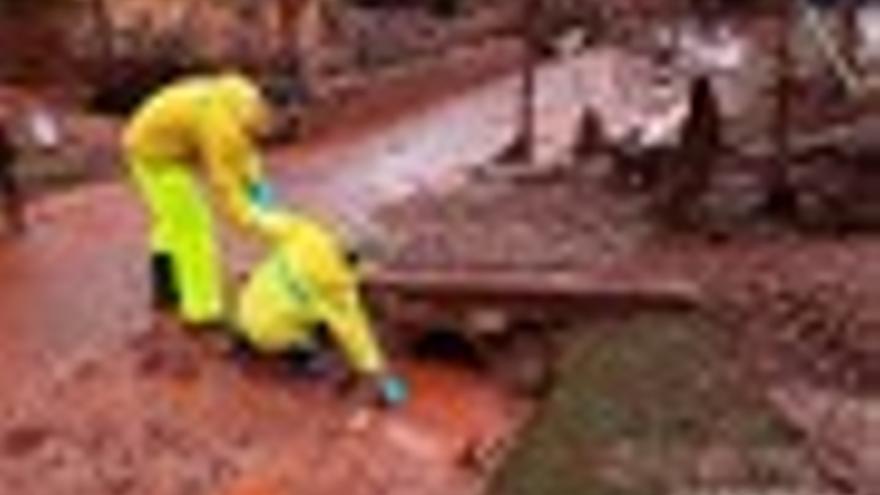 Greenpeace detecta niveles altos de arsénico y mercurio en los lodos del vertido