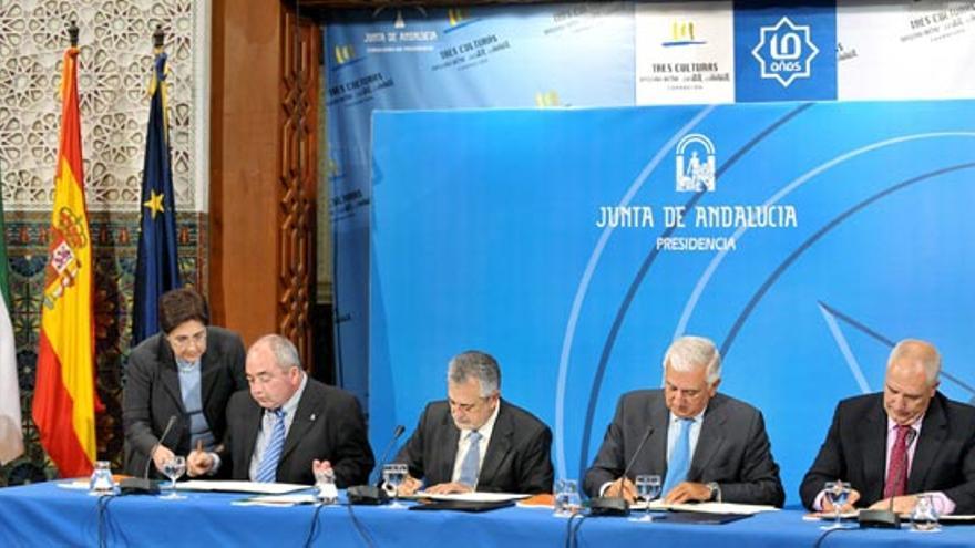 Firma del VII Acuerdo de Concertación Social de Andalucía.