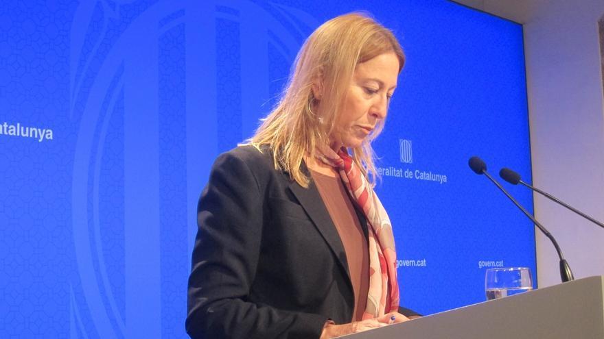 """La portavoz de la Generalitat catalana asegura que bajar impuestos a rentas bajas sí es un objetivo """"compartido"""" en JxSí"""