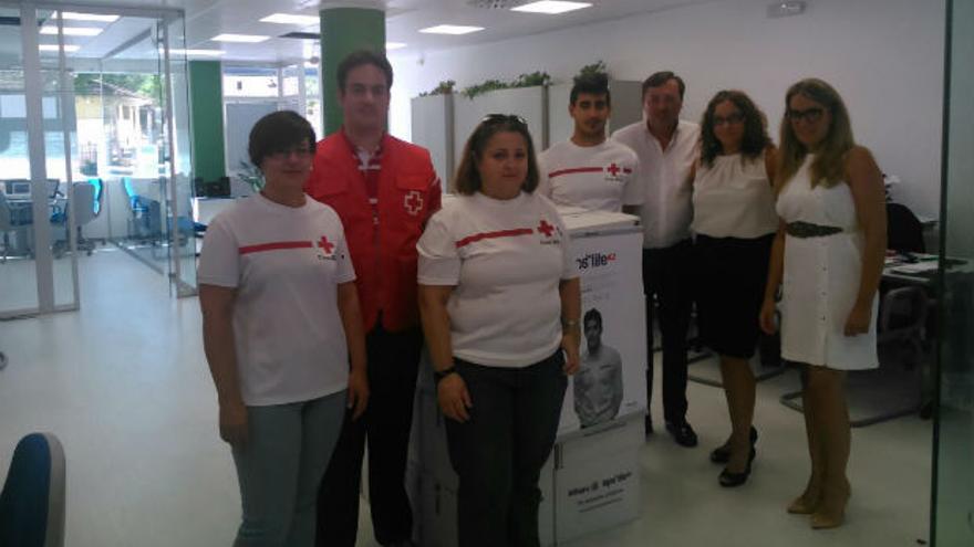 Voluntarios de Cruz Roja de Lucena