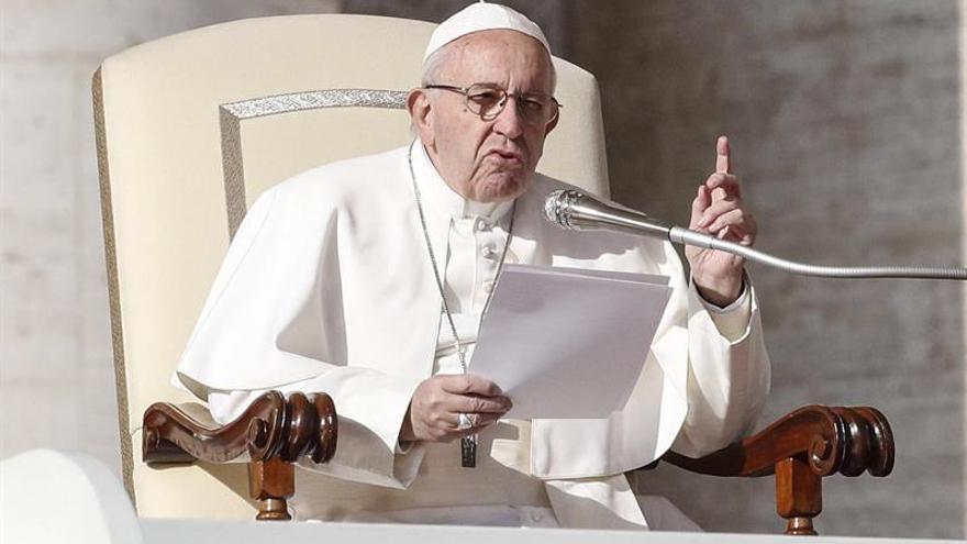 """El papa reconoce las """"virtudes"""" del español Doroteo Hernández Vera"""