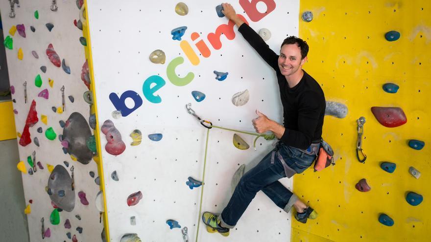 El escalador malagueño Bernabé Fernández