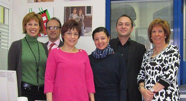 El equipo de profesionales de API Monteleón
