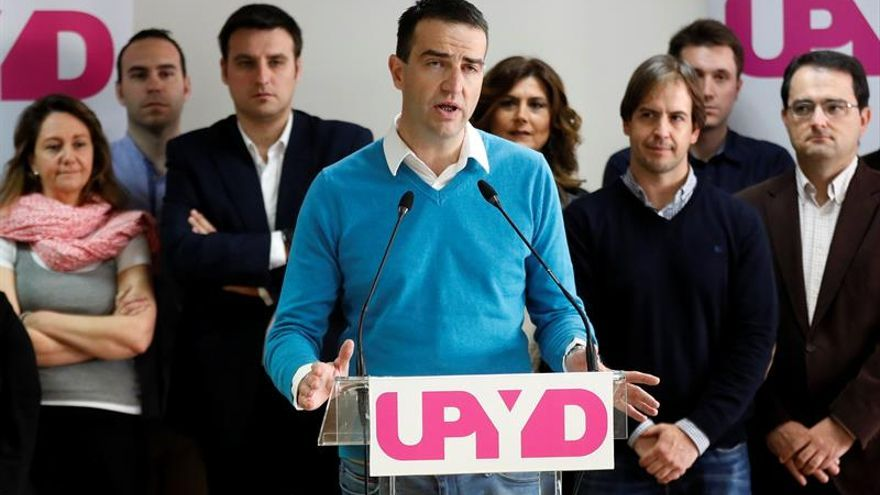 Maneiro pone fin a la campaña de UPyD convencido de que volverán al Congreso