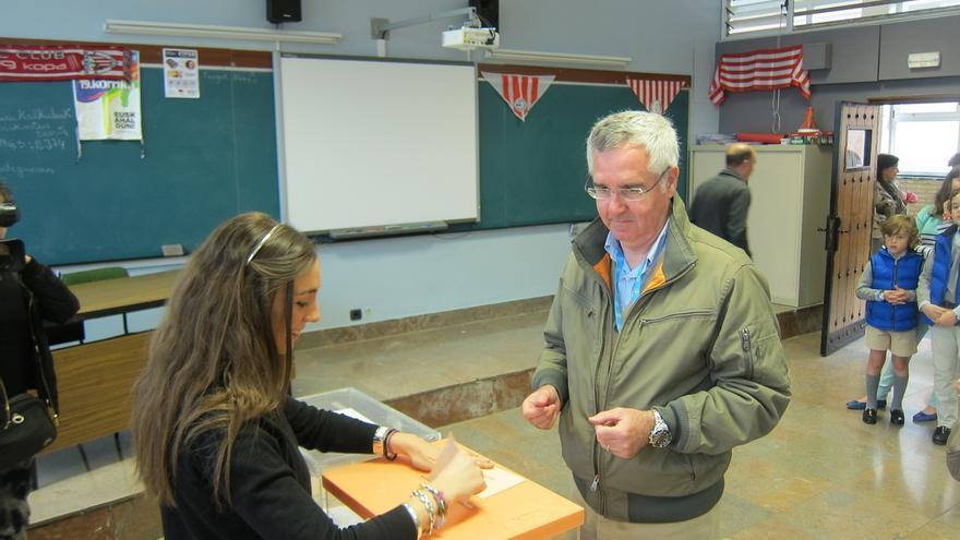 """Eguíluz (PP) destaca que son """"las primeras elecciones municipales sin ETA"""" y anima a acudir a votar"""