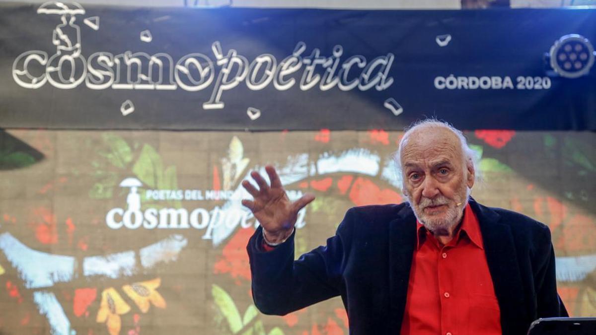 Héctor Alterio recita a León Felipe en Cosmopoética 2020