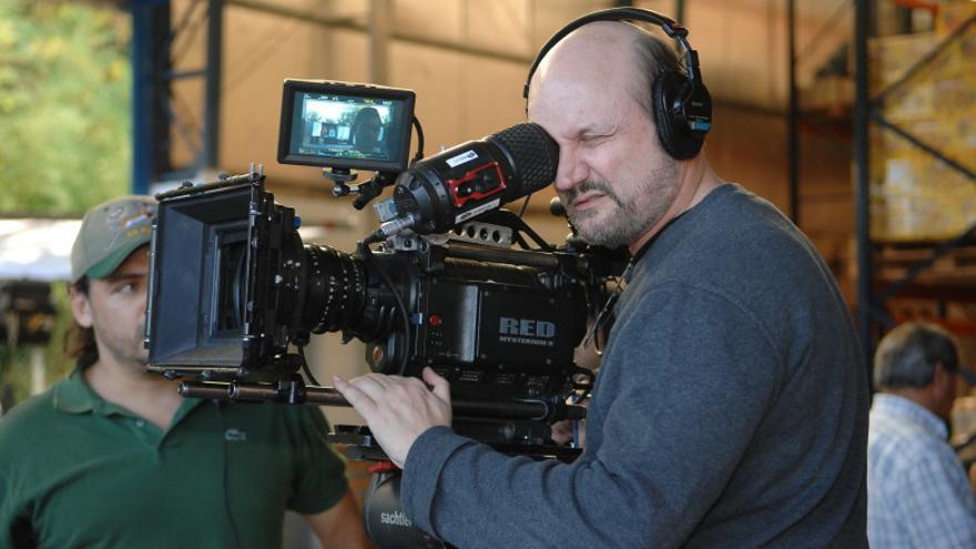 Juan José Campanella en el rodaje de su nueva película, 'El cuento de las comadrejas' (sin fecha confirmada de estreno en España)