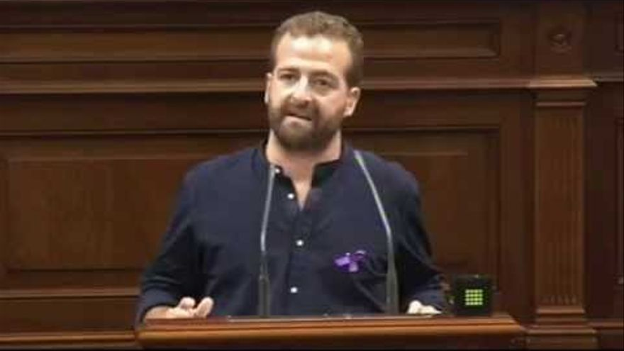 El diputado de Podemos Juan Márquez