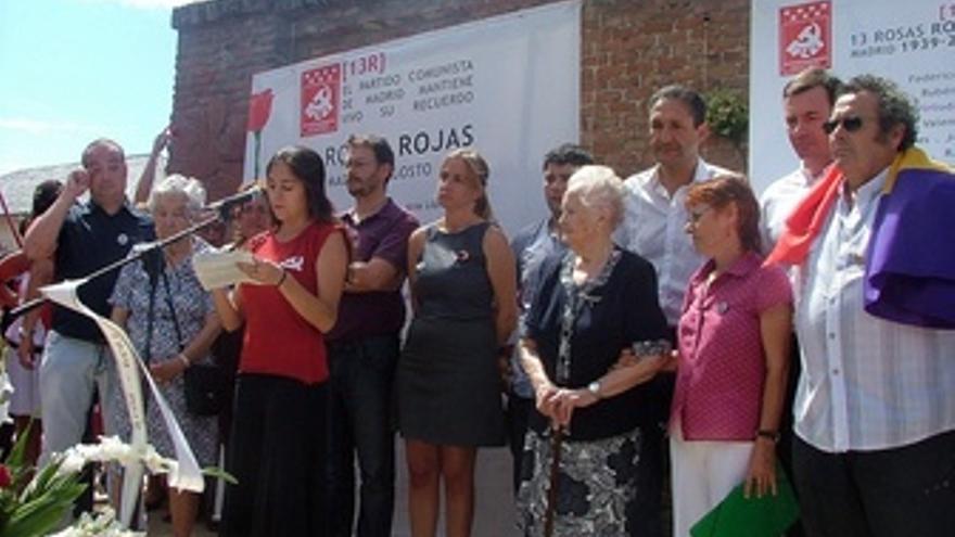 Acto Homenaje A Las 13 Rosas