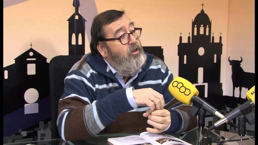 López de los Mozos en una entrevista con Alcarria TV