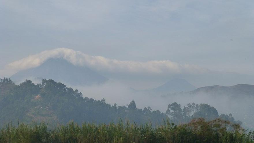 Volcán Muhabura (4.127m) Uganda-Ruanda-Congo