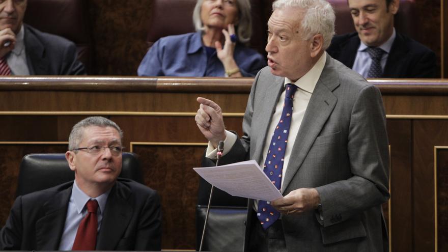 """Margallo asegura que el Gobierno """"no ha dado ni ningún paso atrás y sí muchos pasos adelante"""""""