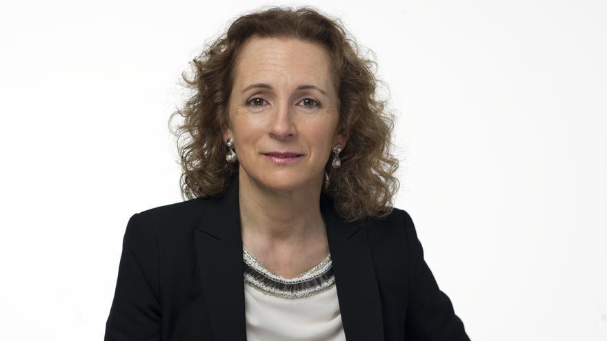 Isabel Fernández, candidata del PSOE a la Alcaldía de Cabezón de la Sal.